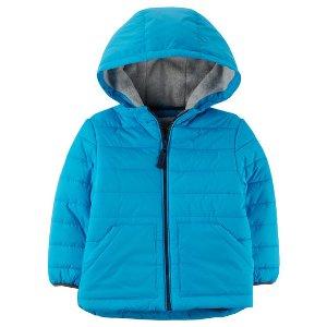 Fleece-Lined Puffer Jacket