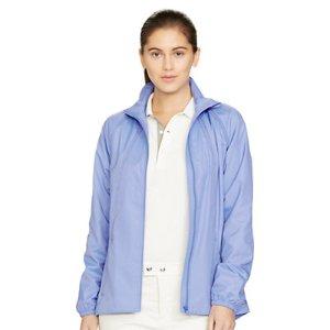 Mesh-Lined Mockneck Jacket - Trenches & Anoraks � Coats & Jackets - RalphLauren.com