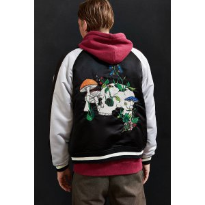 UO Embroidered Skull Souvenir Jacket | Urban Outfitters
