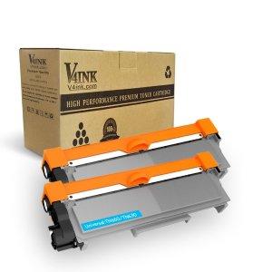 2-Pack V4INK Compatible Brother TN630 TN660 Toner Cartridges