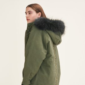 GRILLON Parka with fur hood