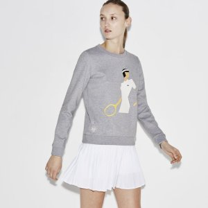Women's SPORT French Open Print Sweatshirt | LACOSTE