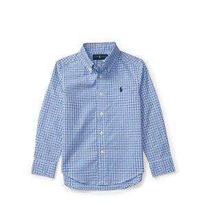 Plaid Cotton Poplin Shirt - Long Sleeve � Casual Shirts - RalphLauren.com