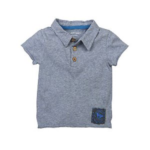 Solid Polo Tee - Burts Bees Baby