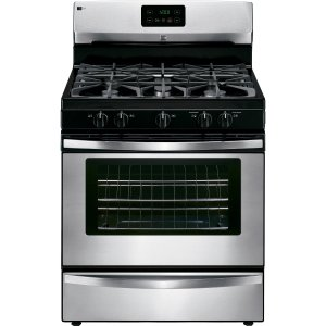 Kenmore 73433 4.2 cu. ft. Freestanding Gas Range - Stainless Steel
