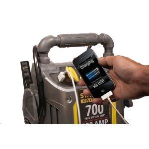 $36.47包邮史低价:Stanley FatMax 700安培汽车紧急启动电源 带气泵