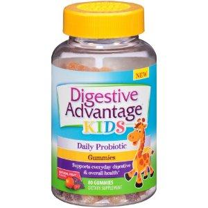 Digestive Advantage Kids Daily Probiotic Gummies, 80 Ct | Jet.com