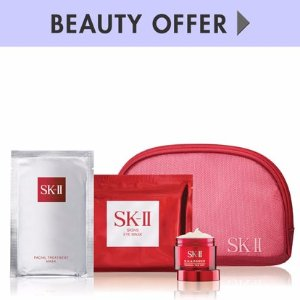 SK-II Yours with any $300 SK-II purchase�Online only*