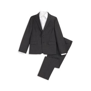 Michael Kors Check Wool Suit (Big Boys) | Nordstrom