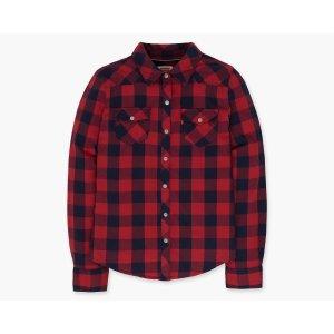 Girls Western Shirt | Red Plaid |Levi's® United States (US)
