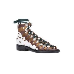 Toga Pulla Hi-top Lace-up Sandals