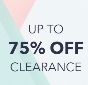 Up to 75% Off Sale @ Keds