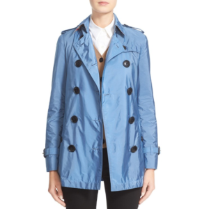 Burberry Brit 'Kerringdale' Belted Trench Coat