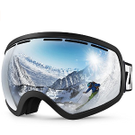 ZIONOR Lagopus X10 Ski Snowboard Snow Goggles OTG for Men & Women 100% UV Protection Helmet Compatible Detachable Lens