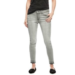 Daney Released Hem Skinny Jeans at Guess