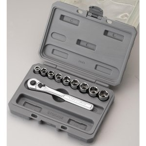 $9Craftsman 10 pc. 6 pt. 3/8 in. Metric Socket Wrench Set