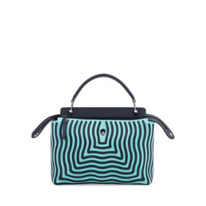Fendi DOTCOM Mini Hypnotic Chain Crossbody Bag