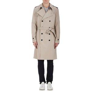 IRO Paul Cotton Gabardine Trench Coat