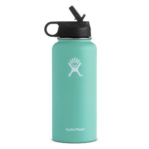 Hydro Flask 32oz Wide Mouth Insulated Bottle with Straw Lid - at Moosejaw.com