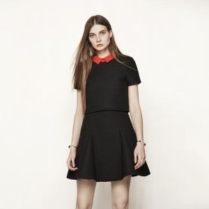 RUDY Short trompe-l'oeil effect dress - Dresses - Maje.com