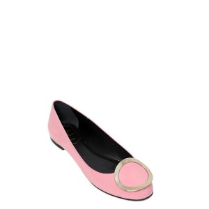 ROGER VIVIER - 10MM PATENT LEATHER FLATS