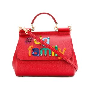 Dolce & Gabbana #DG Family Patch Sicily Tote - Farfetch