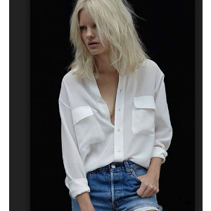 Equipment - Slim Signature Silk Shirt - saks.com
