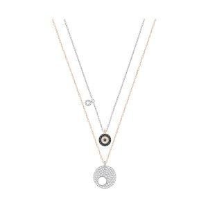 Crystal Wishes Evil Eye Pendant Set, Blue - Jewelry - Swarovski Online Shop