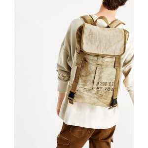 BEIGE BACKPACK WITH FADED FABRIC - BAGS-MAN-SALE | ZARA United States