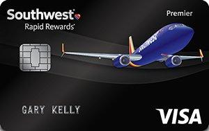 Earn 60,000 points Southwest Rapid Rewards® Premier Credit Card