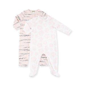 Kenzo Bara Pajama Gift Set, Pink, Size 3-9 Months