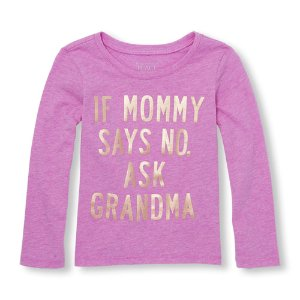 Toddler Girl Graphic Tees