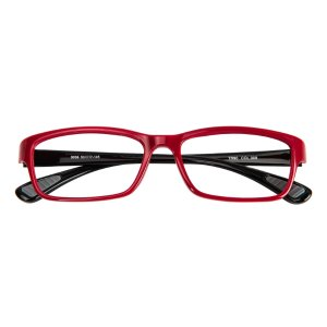 Ralston Rectangle - Red/Black