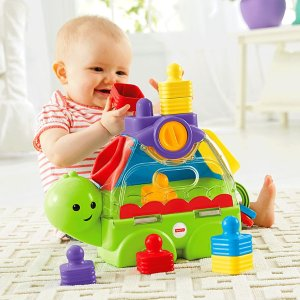 Fisher-Price Little Stackers Sort 'n Spill Turtle | CMY20 | Fisher-Price