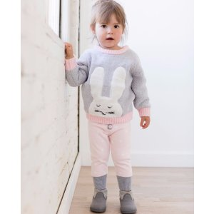 Critters + Hugs Marshmallow Sweater