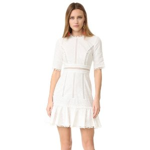 Zimmermann Caravan Embroidered Flip Dress | 15% off first app purchase with code: 15FORYOU