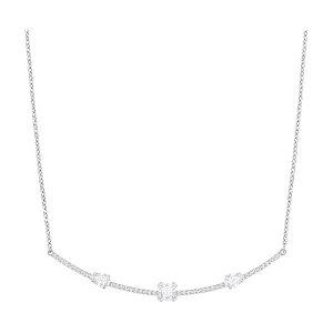 Gray Necklace, White - Jewelry - Swarovski Online Shop