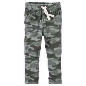 MVP Camo Print Fleece Pants