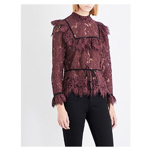 Jerome lace top
