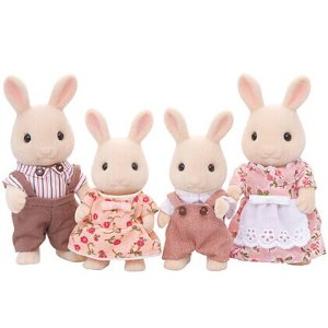 Calico Critters Sweetpea Rabbit Family Toy Set | zulily