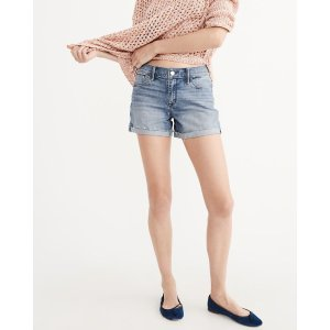 Womens Midi Shorts | Womens Clearance | Abercrombie.com