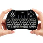 Lynec H9 Blacklit 2.4GHz Mini Wirless Touch Remote Keyboard Mouse