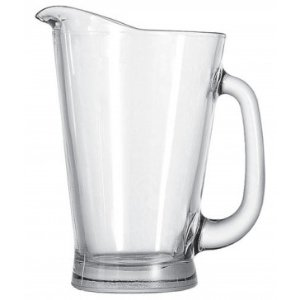 Anchor Hocking Glass Beer Pitcher