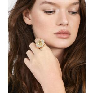 Crystal Lion Head Ring | BaubleBar