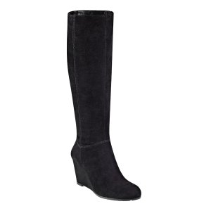 Cambon Tall Wedge Boots | Comfortable Tall Boots for Women | Easy Spirit