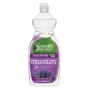 Seventh Generation Natural Dish Liquid Lavender Floral and Mint -- 25 fl oz