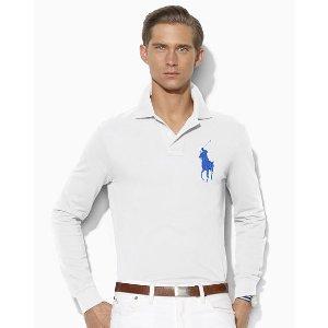 Custom Fit Mesh Polo Shirt