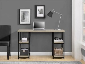 Ameriwood Home Elmwood Double Pedestal Desk