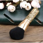 Abody Golden Kabuki Brush,Powder Blush Makeup Brush Create Endless Looks