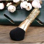 Abody Golden Kabuki Brush,Powder Blush Makeup Brush Create Endless Looks